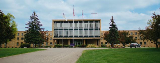 Crown College campus