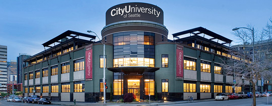 City University Seattle campus
