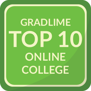 Top 10 Online College Badge