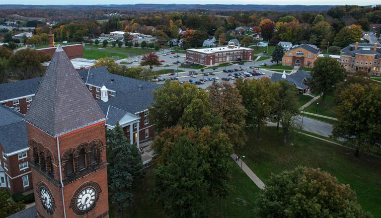 Slippery Rock University campus